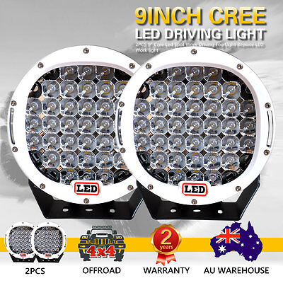 2X 9inch 31800W Cree Led  Spot Work Driving Lights  OFFROAD White