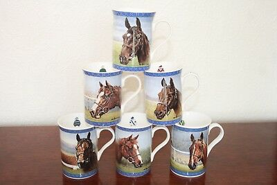 Racing Legends Ii - China Mugs - Second Complete Set