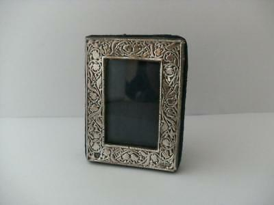 STERLING SILVER HALLMARKED PHOTO FRAME London 1988 Miniature