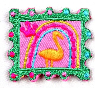 iron-on patch appliqué 12-501 Postage stamp