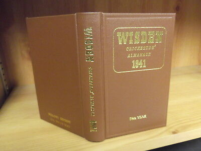 1941 Wisden Willows Reprint - Hardback Edition