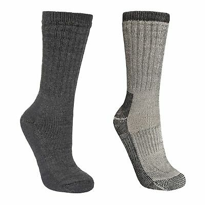 e98931a8dbb TRESPASS STROLLER MENS Merino Wool Hiking Walking Casual Socks ...