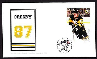 Canada 2016 OFDC $1.80 s/s sc#2948 NHL Forwards-Crosby, rare limited edition