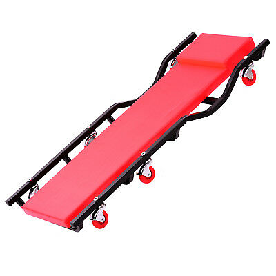 """40"""" Fully Padded Creeper with Profiled Frame Cart andHeadrest"""