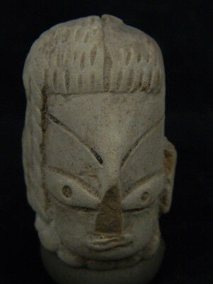 Ancient Indus valley Teracotta Head C.2500 BC   #T930#