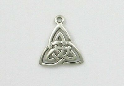 Sterling Silver Celtic Triquetra Charm