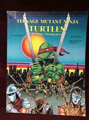 Teenage Mutant Ninja Turtles & Other Strangeness By Erick Wujick Revised Edition