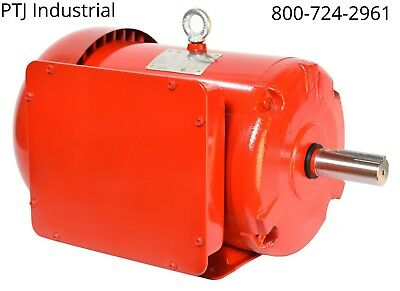5 hp 184t electric motor 1 phase 1800 rpm enclosed farm duty f184t5s4c-mo