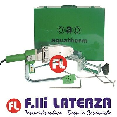 Aquatherm Fusion Welder Original Complete Case And Accessories Fusiotherm