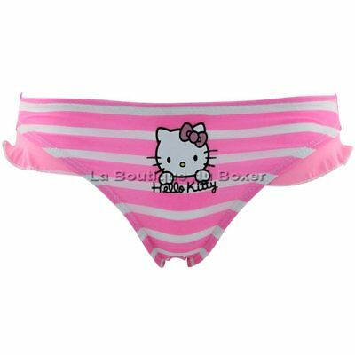 HELLO KITTY Shorty Bain Moulant Fille MARIN Rose