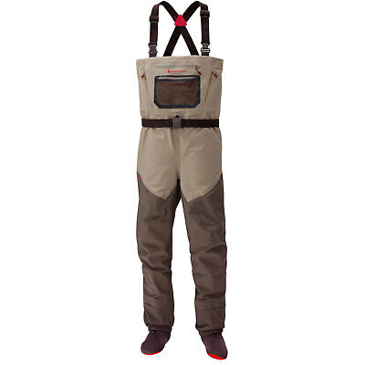 Redington Sonic-Pro HD Fly Fishing Wader Clay/Dark Earth w Articulated Knee