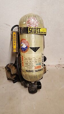 Scott SCBA Bottle and Wire Harness