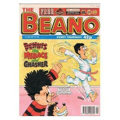 The Beano Comic No.2865 June 14 1997 Dennis MBox2806