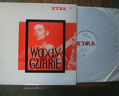 """WOODY GUTHRIE """"Woody Guthrie"""" UK Xtra label LP XTRA 1013 Ex"""