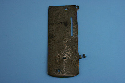 Vintage Singer Model 127 27 Sewing Machine Face Plate Front Cover Scrolled