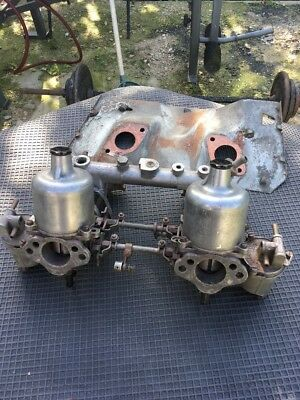 MGB Roadster / GT Original TWIN SU 1 1/2 CARB With Heat Shield
