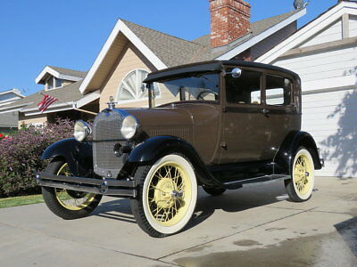 1929 Ford Model A  1929 Ford Model A 2 Door