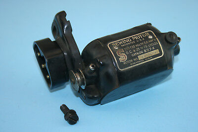 Vintage Singer Model 127 Sewing Machine Electric Motor B.U.7.-E
