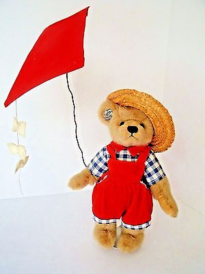 "Vintage Annette Funicello ""Windy"" Collectible Bear From The Summer Collection"