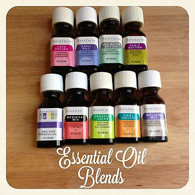 Aura Cacia Essential Solutions Blends for Diffusers and other Aromatherapy