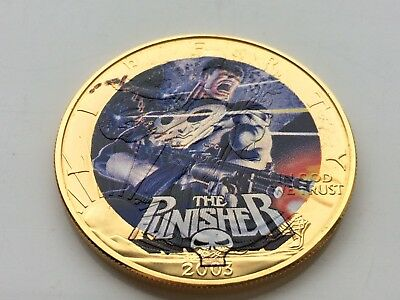 2003 Ultimate Marvel Super Hero Collection Punisher 1Oz .999 Silver Round