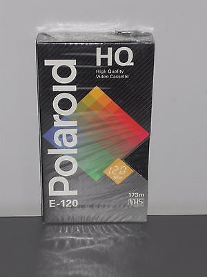 Cassette video VHS vierge - POLAROID E-120 - 2 heures  - NEUF
