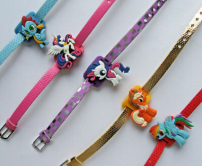 SHOE CHARM BRACELETS (K3) - inspired by MY LITTLE PONY & EQUESTRIA GIRLS