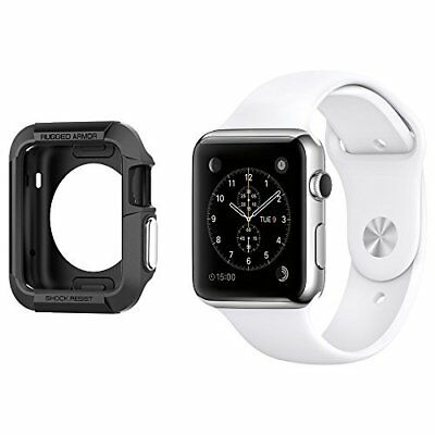 Apple Watch Series 3 2 Case Shock Absorption 42mm Black