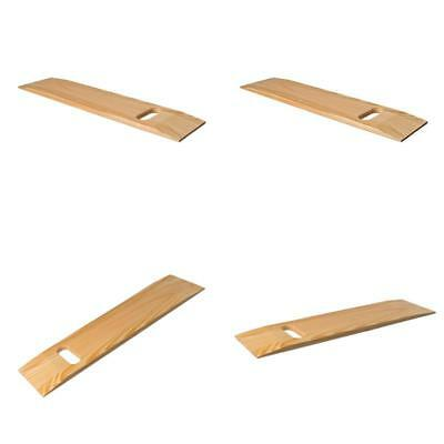 Mabis Wooden Transfer Slide Board With Cut Out Handle