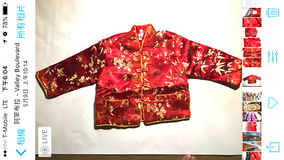 new todder & girls traditional asian embroider jackets