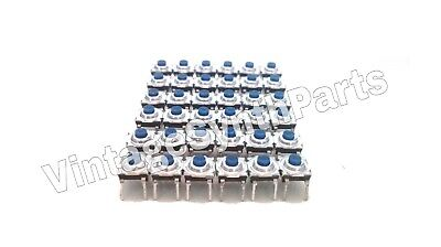Full set of 36 pushbuttons front panel switches for ENSONIQ EPS, EPS-16 OR PLUS