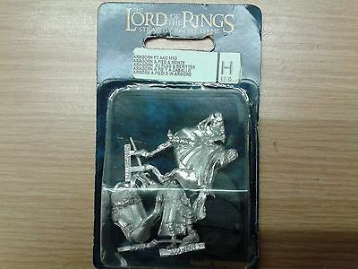 LOTR Lord Of The Rings ARAGORN FT AND MTD metal OOP sealed