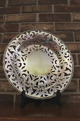 Sheffield Nickel Silver 2538 Decorative 11.5'' Plate