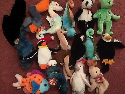 Bundle of 15 Beanie Baby - NEW