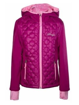 Snozu Girls Cozy Soft Fleece Lined Hooded Full Zip Softshell Jacket *VARIETY*