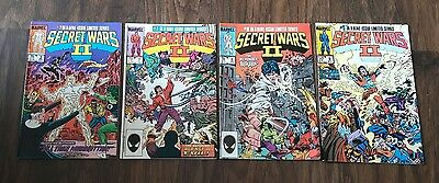 marvel comics presents secret wars 2 published 1985-1986 (NM) joblot.
