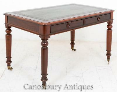 Antique Victorian Writing Table Desk 1860