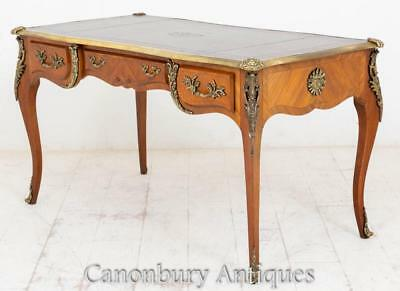 French Empire Desk - Antique Bureau Plat Writing Table