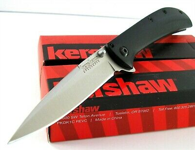 Kershaw Al Mar AM-3 Flipper Speed Assisted Opening G10 Knife CLAM Pack 2335 AM3