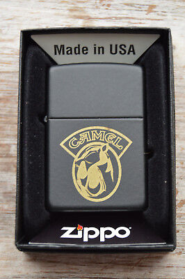 #46 Rare Joe Camel 1990's Zippo Joe Face is Solid Brass with Originl Box