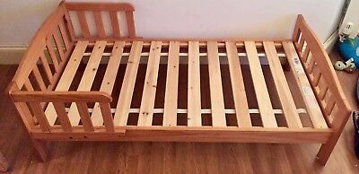 Mothercare 140x70 Toddler Bed (real wood)