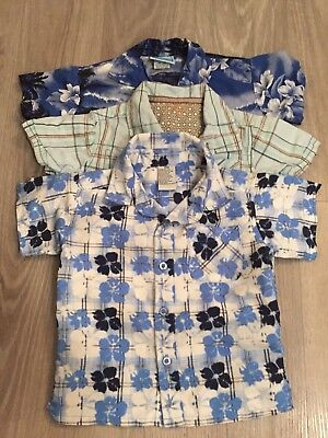 Boys Casual Shirts 3 Different Shirts 18-24 Months!