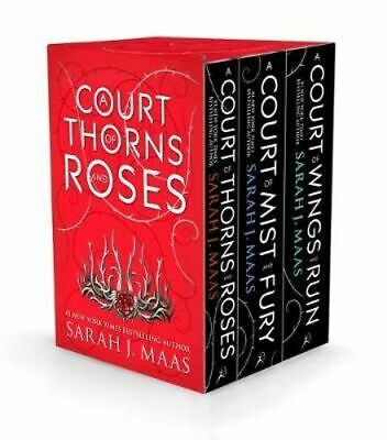 NEW A Court of Thorns and Roses Box Set By Sarah J. Maas Multi-Copy Pack