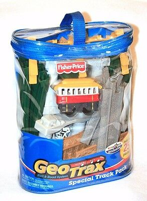Fisher Price GeoTrax Remote Control Train Track - 25 Pieces FACTORY SEALED - NEW