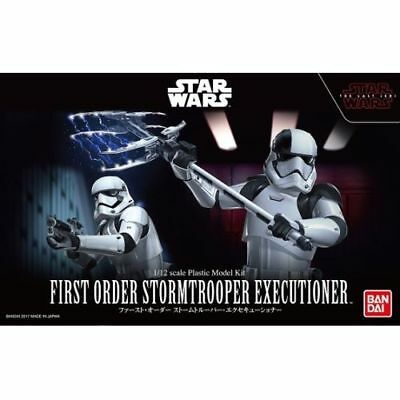 Star Wars Model Kit 1/12 First Order Executioner (The Last Jedi) Bandai Japan*c