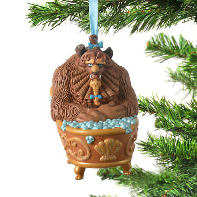 Disney Store Japan Ornament Beauty and the Beast Beast