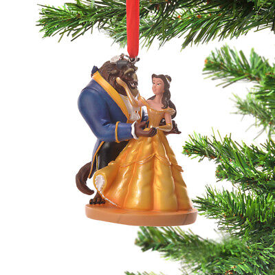 Disney Store Japan ornament Bell And Beast