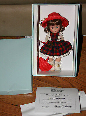 Vintage Reproduction Merry Moppets Ginny Vogue NEW Limited ed