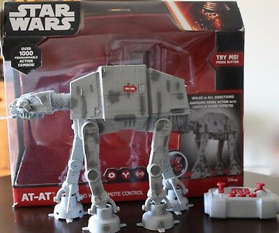 Star Wars  At-At U-Command With Remote Control  Used