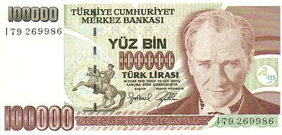 Turkey, 100000 Lira, L. 1970 ,unc